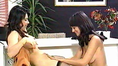 Hairy Pregnant Mom Milking with Doctor