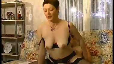 This hot mom needs some work fast