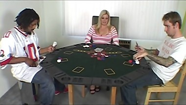 Mom fucked after a poker game
