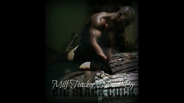 MILF Teacher Sucks And Fucks Black Football Player