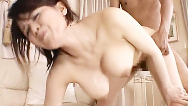 Miki Sato real asian mum has manage part1