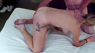 Wicked likes the dildo and loves to suck cock! Who's next?