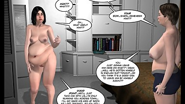3D Comic: Malevolent Intentions. Episode 9