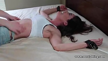 MILF Michelle is Extremely Ticklish
