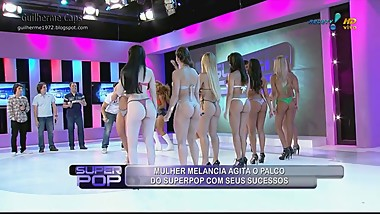 Brazil TV Show (the girl in the red thong.. omg)