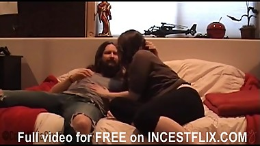 Brother fucks Sister after break up, CockNinja & WinkyPussy INCESTFLIX.COM