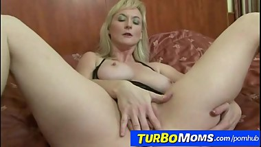 Busty hungarian cougar Ildiko interracial monster cock anal fucking