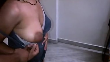 Indian Bhabhi Stripping Naked Big tits Sucked