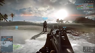 BF4 Epic and Lucky Moments!