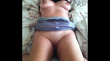 My Real Stepmom Spreads her Pussy