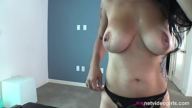 Beautiful MILF Waited 10 Years to Come on Netvideogirls