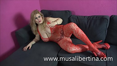 NEW WEBCAM SHOWS SPANISH PORNSTAR WITH BIG TITS MILF MUSA LIBERTINA