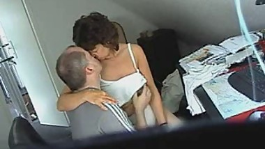 Wooow. Mom and dad having fun. Hidden cam