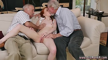 Virgin and mom loves old man and bunny babe old man and old blonde