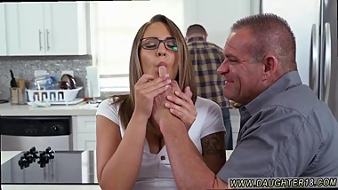 Boss daughter virgin and step mom catches friend's step daughter