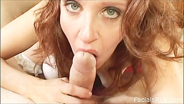 Dirty Little Step Mom Can't Wait To Suck Cock While Daddy Is Away
