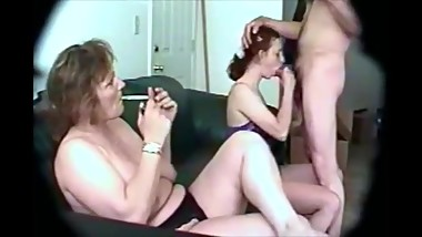 REAL Mom and Daughter blow Dad
