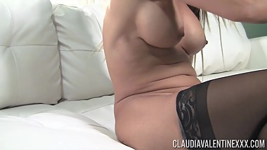 Claudia Valentina Working my Pussy