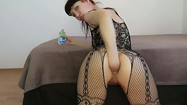 analfisting - Anal play and self fisting 2