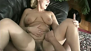 A lovely mom drilled in all positions by not her son