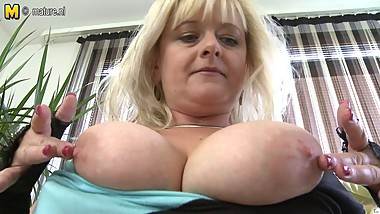 Big breasted mature MOM do nasty things